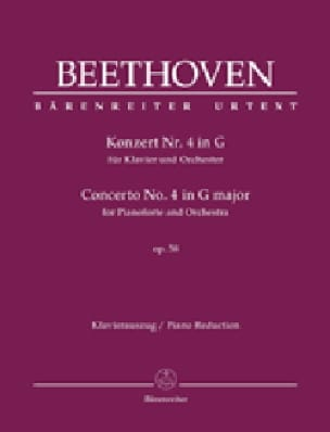 Concerto Pour piano n° 4 Op. 58 En Sol majeur - laflutedepan.com