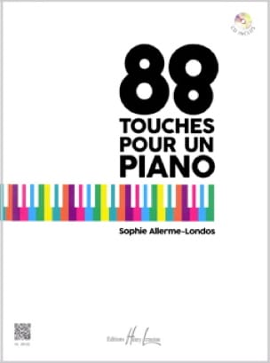 Sophie Allerme - 88 keys for a piano - Partition - di-arezzo.co.uk