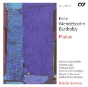 Paulus op. 36. 2 CD - MENDELSSOHN - Partition - laflutedepan.com