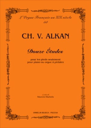 12 études - ALKAN - Partition - Orgue - laflutedepan.com