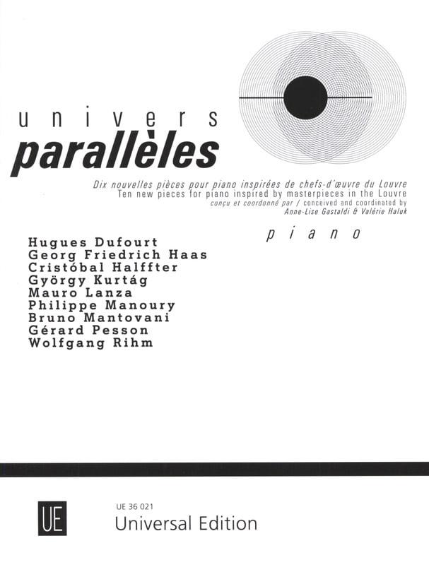 Univers parallèles - Partition - Piano - laflutedepan.com
