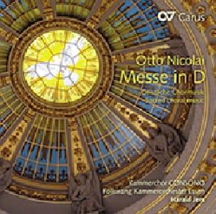 Messe en Ré - Otto Nicolai - Partition - Chœur - laflutedepan.com