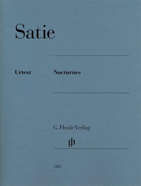 Nocturnes - SATIE - Partition - Piano - laflutedepan.com