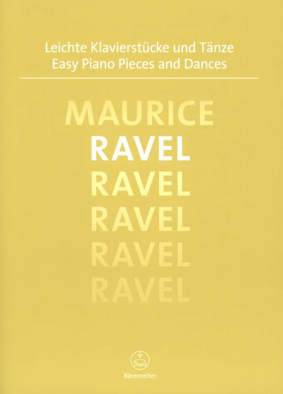 Easy Piano Pieces and Dances - RAVEL - Partition - laflutedepan.com
