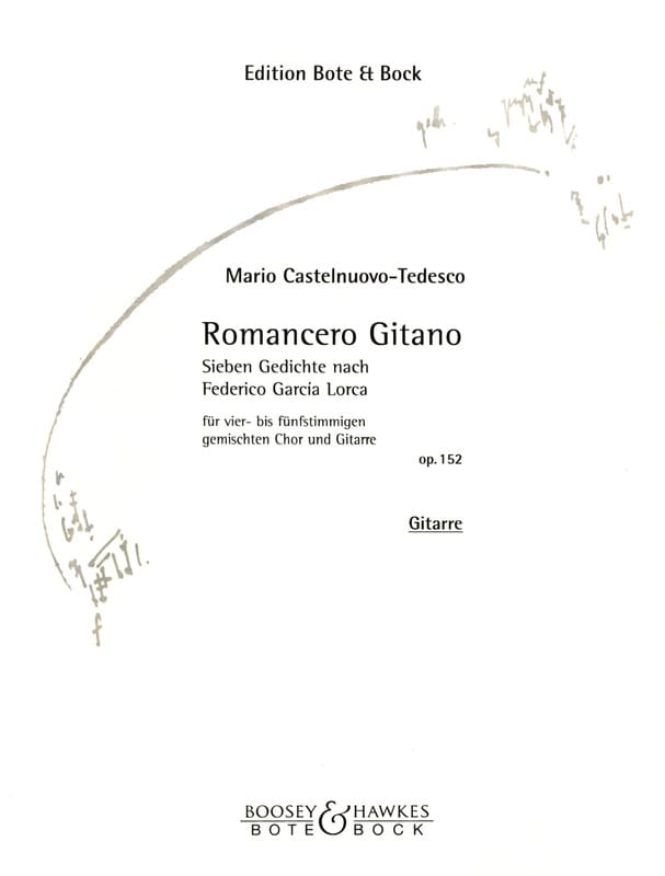 Romancero Gitano Opus 152. - laflutedepan.com