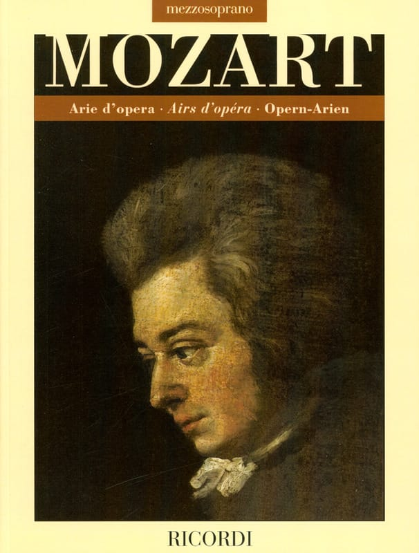 Arie d'opera. Mezzo-Soprano - MOZART - Partition - laflutedepan.com