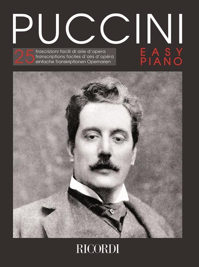 Puccini Easy piano - PUCCINI - Partition - Piano - laflutedepan.com