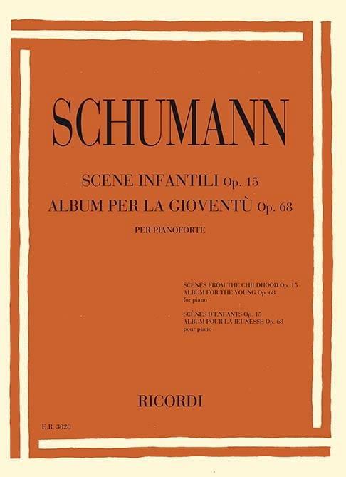 Scènes d'enfants op. 15 - Album pour la jeunesse op. 68 - laflutedepan.com