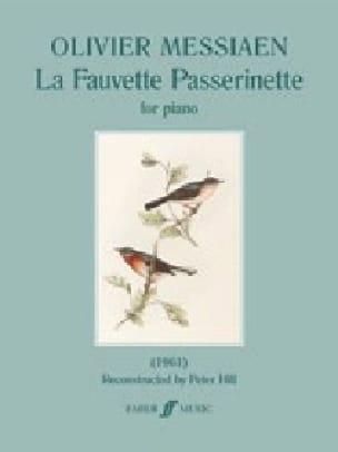 La Fauvette Passerinette - MESSIAEN - Partition - laflutedepan.com