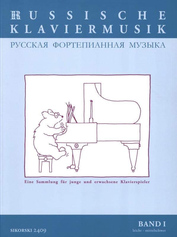 Russische Klaviermusik Volume 1 - Partition - laflutedepan.com