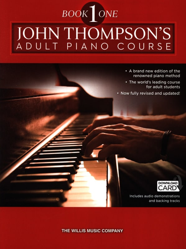 John Thompson - Adult piano method. Volume 1 - Partition - di-arezzo.co.uk