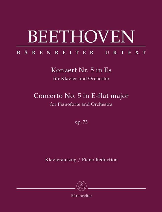 Concerto pour piano N° 5 Opus 73 En Mi Bémol Majeur - laflutedepan.com