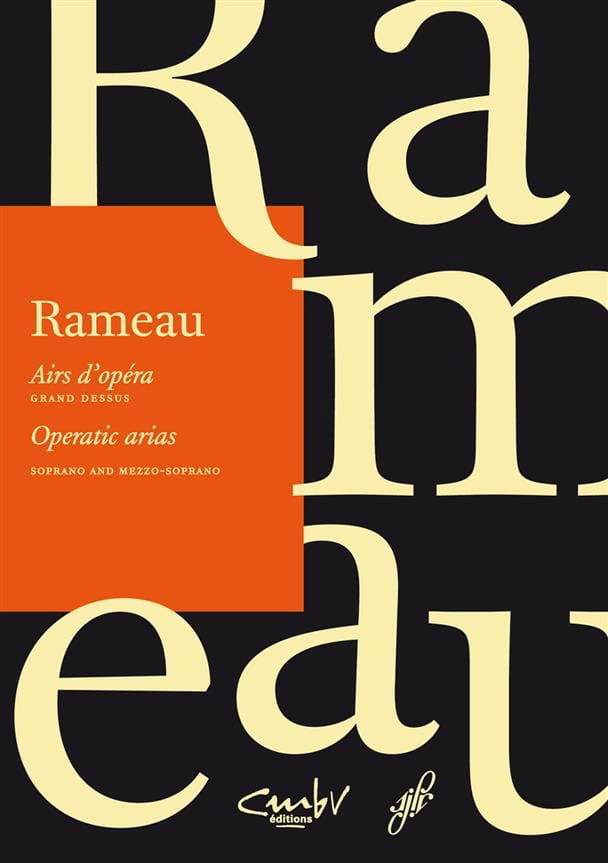 Jean-Philippe Rameau - Opera tunes. Large top - Partition - di-arezzo.com