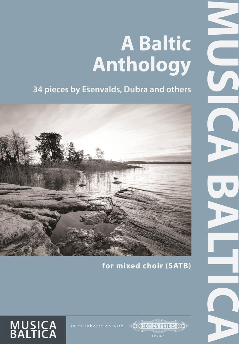 A Baltic Anthology - Partition - Chœur - laflutedepan.com