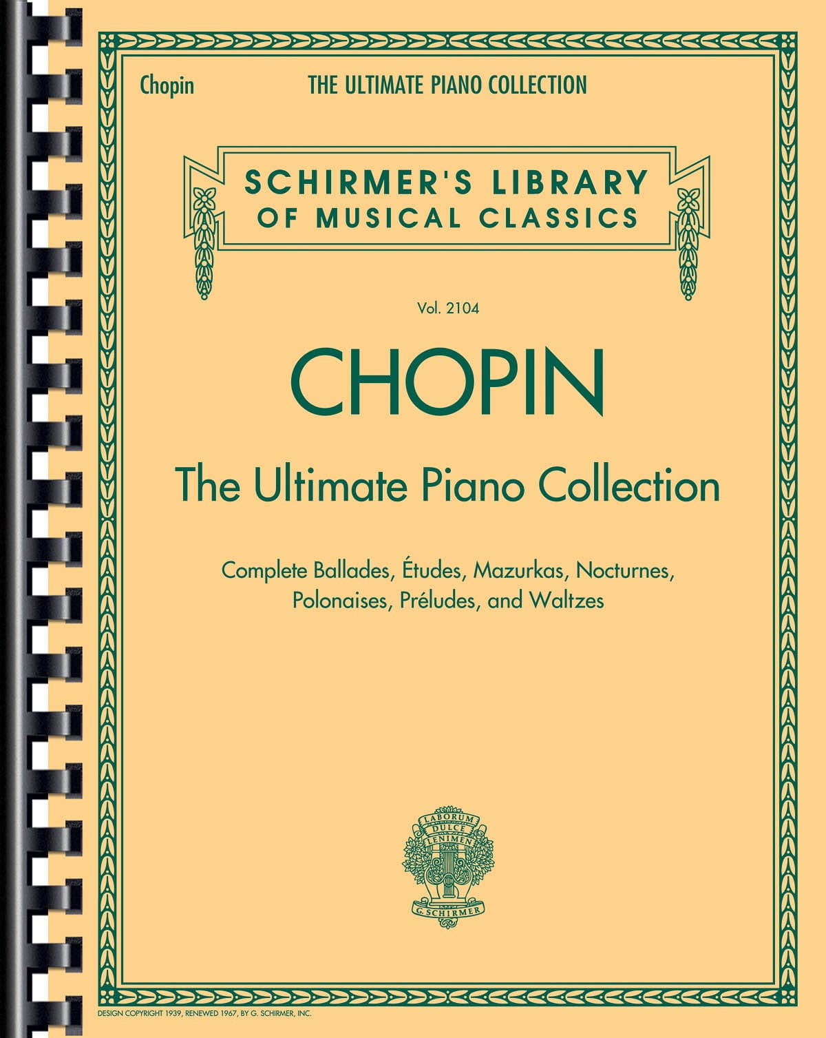 The Ultimate piano collection - CHOPIN - Partition - laflutedepan.com