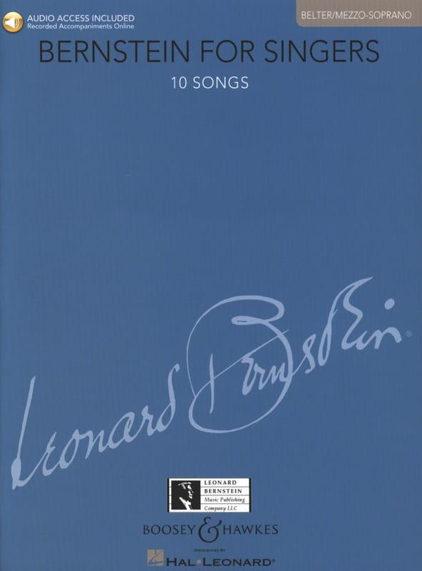 Bernstein for Singers. Mezzo-Soprano - BERNSTEIN - laflutedepan.com