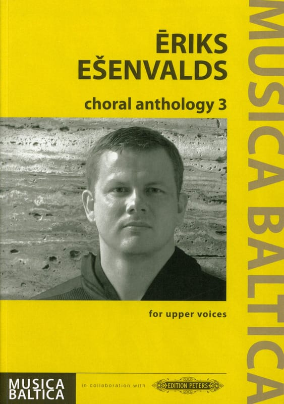 Eriks Esenvalds - Choral Anthology 3 - Partition - di-arezzo.com