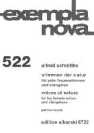 Voices of Nature - Alfred Schnittke - Partition - laflutedepan.com