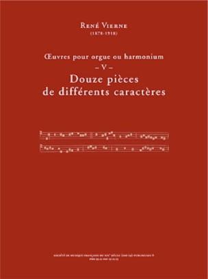 Oeuvres pour orgue. Volume 5 - René Vierne - laflutedepan.com