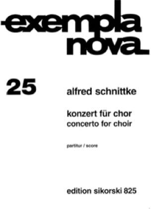 Konzert für Chor - Alfred Schnittke - Partition - laflutedepan.com