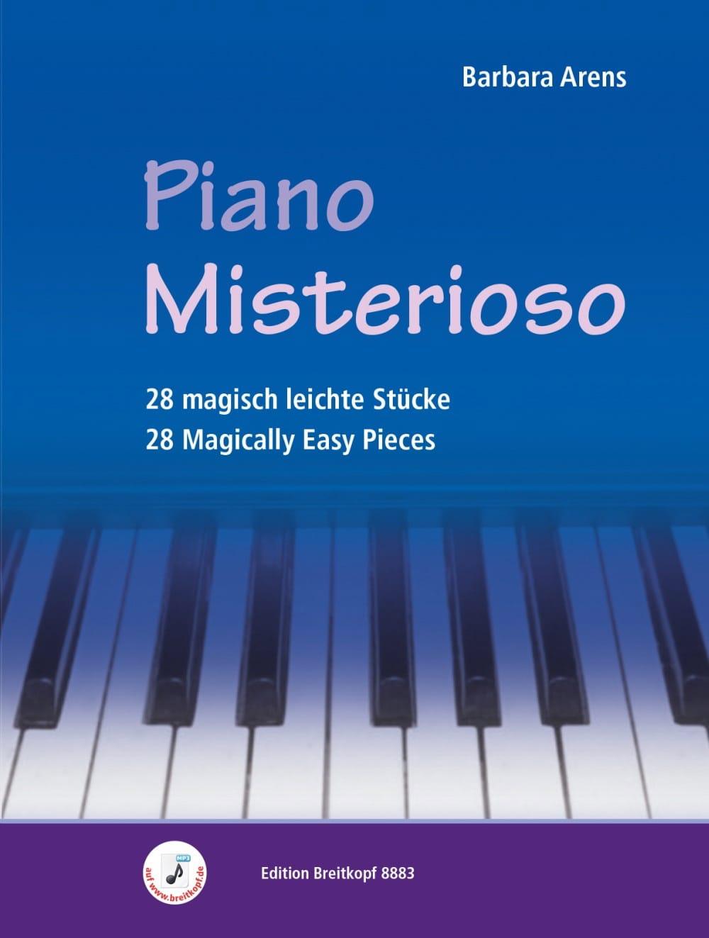 Piano Misterioso - Barbara Arens - Partition - laflutedepan.com
