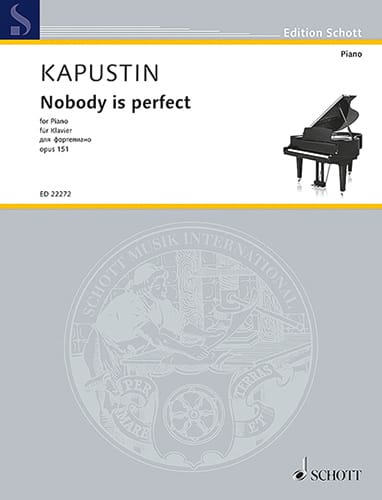 Nobody is perfect op. 151 - Nikolai Kapustin - laflutedepan.com