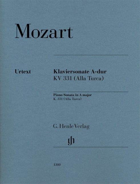 Sonate en La Majeur (K331) - MOZART - Partition - laflutedepan.com