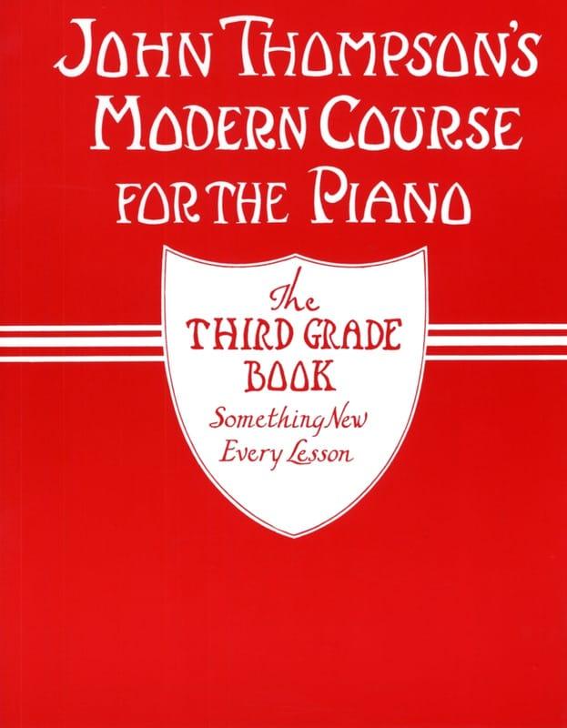 John Thompson - 現代ピアノ方法第3巻 - Partition - di-arezzo.jp