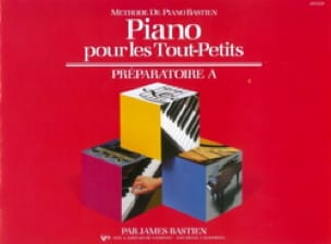 BASTIEN - Piano for toddlers - Preparatory A - Partition - di-arezzo.co.uk