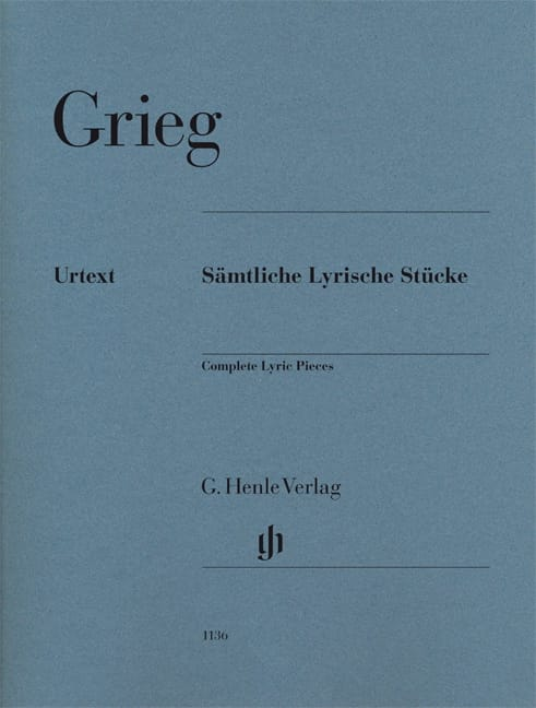 Edward Grieg - Complete lyric pieces - Partition - di-arezzo.co.uk