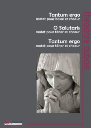 3 pièces sacrées - Théodore Dubois - Partition - laflutedepan.com