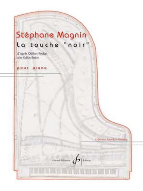 La touche NOIR - Stéphane Magnin - Partition - laflutedepan.com