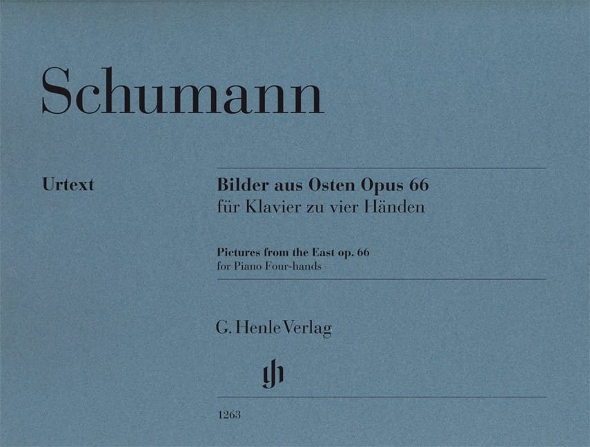 SCHUMANN - Bilder aus Osten Opus 66. 4 hands - Partition - di-arezzo.co.uk