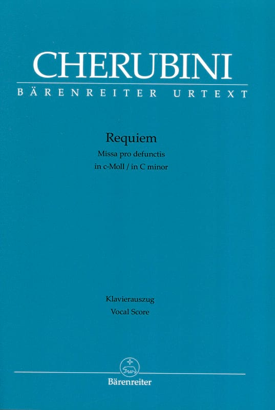 Requiem - CHERUBINI - Partition - Chœur - laflutedepan.com