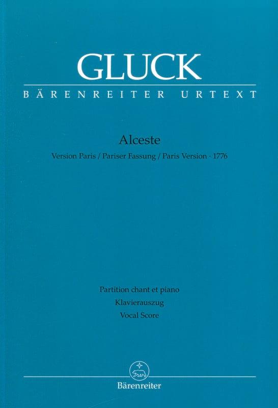 GLUCK - Alceste - Version Paris - Partition - di-arezzo.com