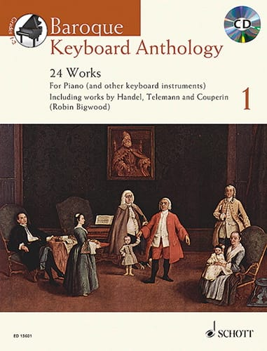 Baroque Keyboard Anthology. Volume 1 - laflutedepan.com