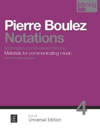 Pierre Boulez - Analysis ratings - Partition - di-arezzo.co.uk