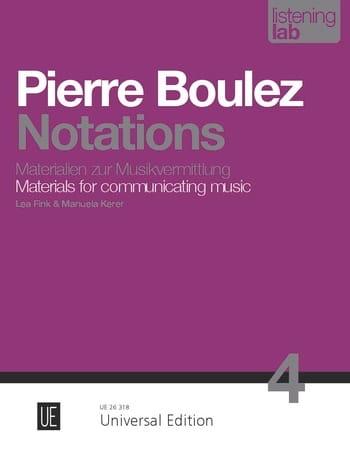 Pierre Boulez - 分析の評価 - Partition - di-arezzo.jp