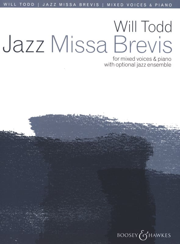 Will Todd - Jazz Missa Brevis - Partition - di-arezzo.fr