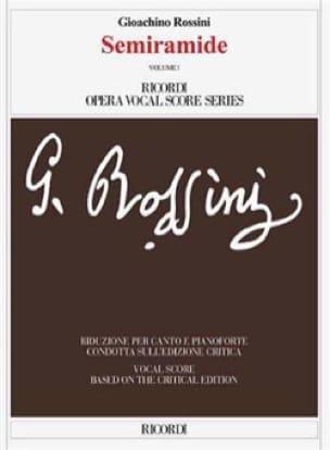 Semiramide. Edition Critique (2 volumes) - ROSSINI - laflutedepan.com