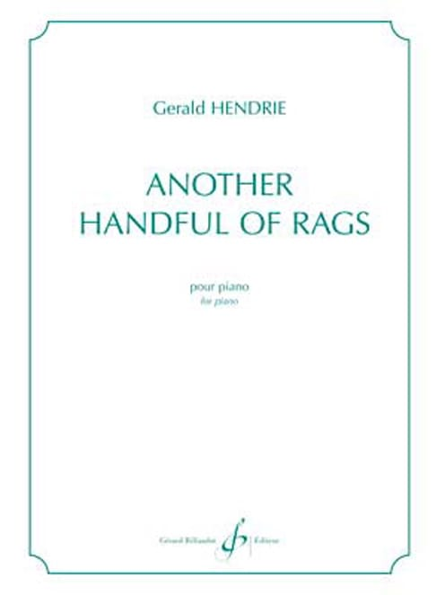 Another handful of rags - Gerald Hendrie - laflutedepan.com