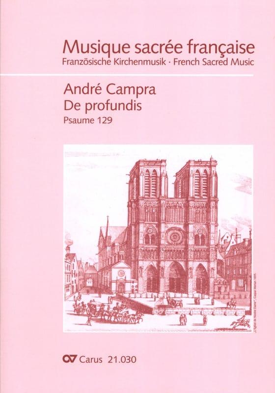 De Profundis - CAMPRA - Partition - Grand format - laflutedepan.com