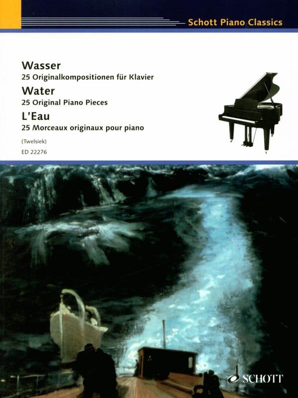 L'eau - Partition - Piano - laflutedepan.com