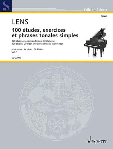 100 études, exercices et phrases tonales simples. Volume 1 - laflutedepan.com