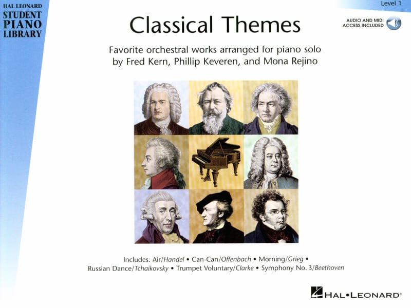 Classical Themes. Niveau 1 - Partition - Piano - laflutedepan.com