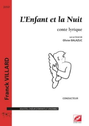 L'enfant et la nuit - Franck Villard - Partition - laflutedepan.com
