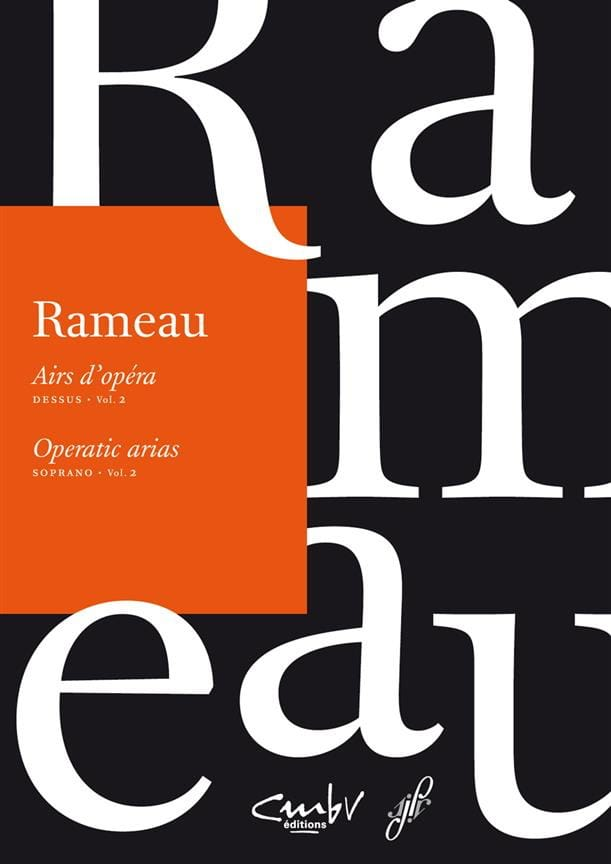 Airs d'opéra Dessus Volume 2 - RAMEAU - Partition - laflutedepan.com