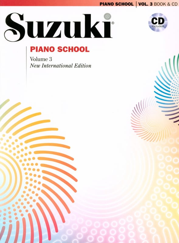Suzuki - Suzuki Piano School New International Edition Volume 3 - Partition - di-arezzo.co.uk