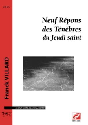 9 répons des Ténèbres du Jeudi Saint - laflutedepan.com