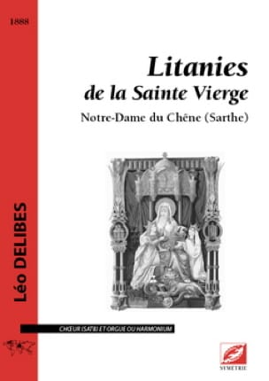 Léo Delibes - Litanies of the Blessed Virgin - Partition - di-arezzo.com